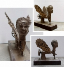 Mixedmedia Sculpture titled 'Untitled 3' by artist Artist Yusuf