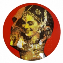 Figurative Acrylic Art Painting title 'Myth' by artist Nayanjeet Nikam