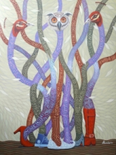 contemporary Acrylic Art Painting title Untitled 2 by artist Arvind Dubey
