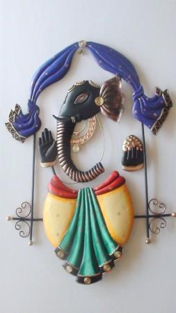 Radha Krishna Jhoola 1 | Craft by artist Handicrafts | Wrought Iron