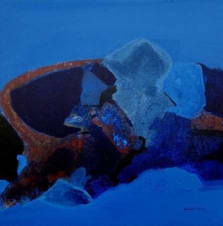 Untitled   Painting by artist Ravindra Parkhi   acrylic   Canvas