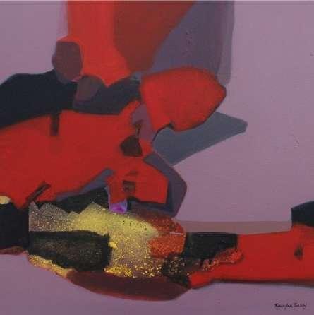 Untitled | Painting by artist Ravindra Parkhi | acrylic | Canvas