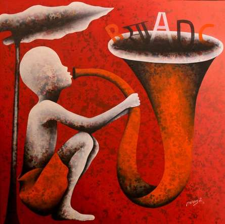 Athkheliyan 75 | Painting by artist Lakhan Singh Jat | acrylic | Canvas