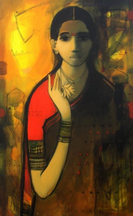Morning Glory | Painting by artist Sachin Sagare | acrylic | Canvas