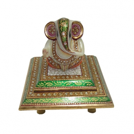 Gracious Lord Ganesha | Craft by artist Ecraft India | Marble