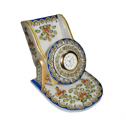 Floral Mobile Stand | Craft by artist Ecraft India | Marble