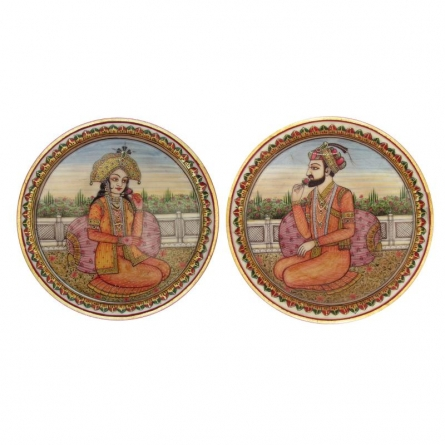 Raja-Rani | Craft by artist Ecraft India | Marble