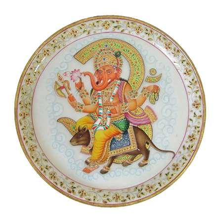 Ecraft India   Lord Ganesha With Rat Craft Craft by artist Ecraft India   Indian Handicraft   ArtZolo.com