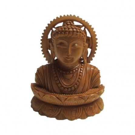 Ecraft India | Lord Buddha Meditation Craft Craft by artist Ecraft India | Indian Handicraft | ArtZolo.com
