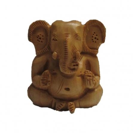 Ecraft India | Sitting Lord Ganesha Craft Craft by artist Ecraft India | Indian Handicraft | ArtZolo.com