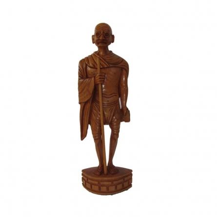 Ecraft India | Legend Mahatma Gandhi Craft Craft by artist Ecraft India | Indian Handicraft | ArtZolo.com
