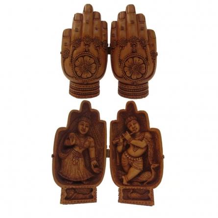 Ecraft India | Namastey With Laxmi Ganesha Craft Craft by artist Ecraft India | Indian Handicraft | ArtZolo.com
