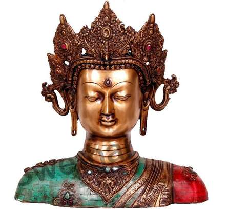 Brass Art | Thai Buddha Statue Craft Craft by artist Brass Art | Indian Handicraft | ArtZolo.com