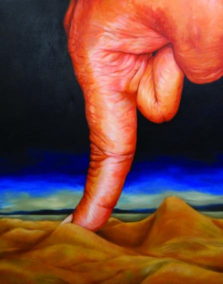 contemporary Acrylic Art Painting title 'Untitled 1' by artist Pratap Manna