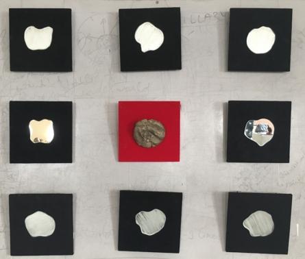 Mixedmedia Sculpture titled 'Untitled 6' by artist Baljeet Singh