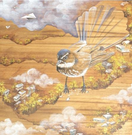Animals Acrylic Art Painting title 'Coexistence 6' by artist Sweta Chandra