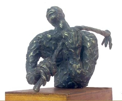 Bronze Sculpture titled 'Formar' by artist Kishor Sharma