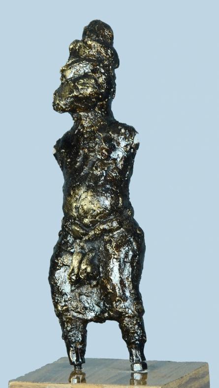 Bronze Sculpture titled 'Untitled 2' by artist Kishor Sharma