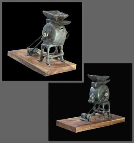 Fiber Sculpture titled 'Giran Composition' by artist Prashik Khandare