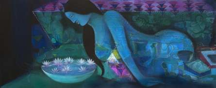 Desires | Painting by artist Madan Lal | acrylic | Canvas