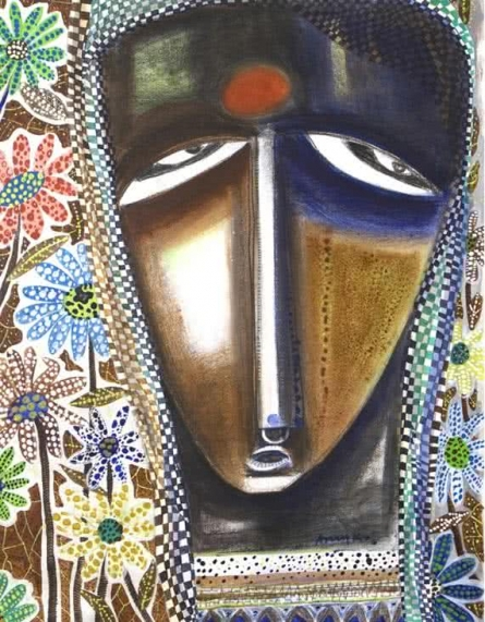 Mother | Painting by artist Arun K Mishra | acrylic | Canvas