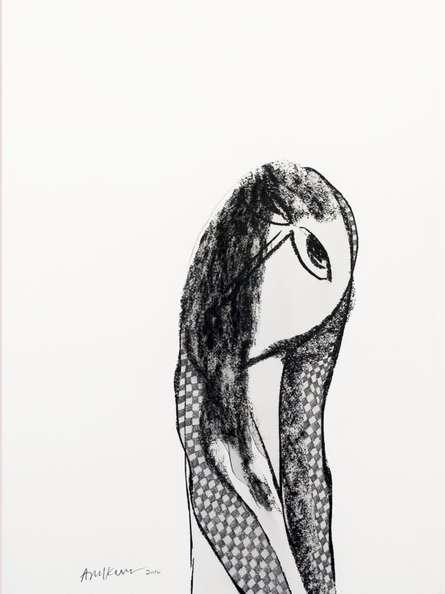 Beautiful Women | Drawing by artist Arun K Mishra |  | charcoal | Paper