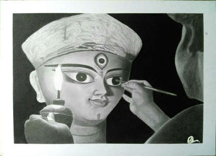 #durgapuja#india#pencildrawing