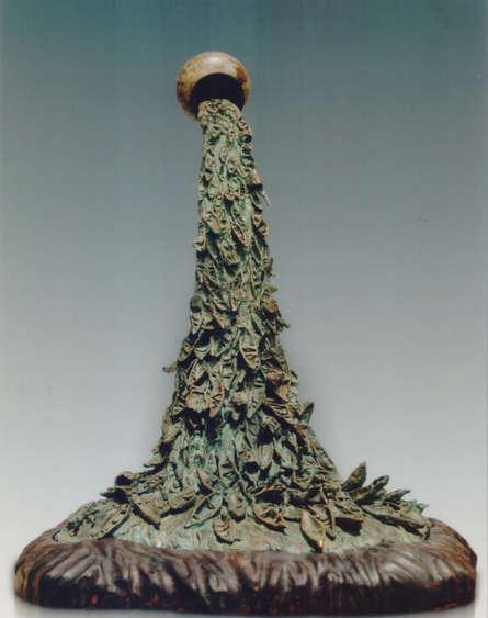 Bronze Sculpture titled 'Ganga' by artist Chaitali Chanda