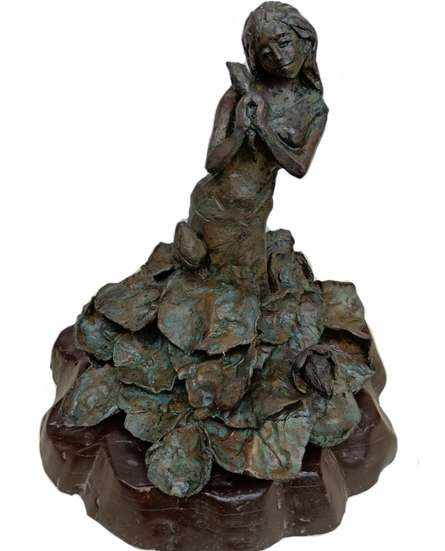 Bronze Sculpture titled 'Sharnna' by artist Chaitali Chanda