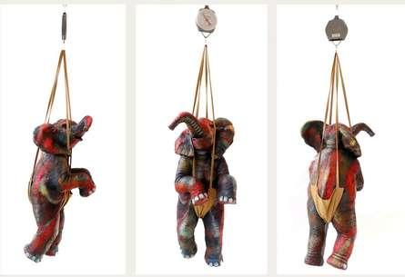 art, sculpture, mixedmedia, animal