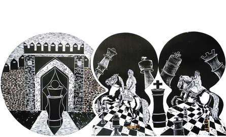 Diksha Dhingra | Ready For Triumph Printmaking by artist Diksha Dhingra | Printmaking Art | ArtZolo.com
