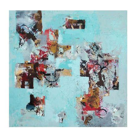 Abstract Acrylic Art Painting title Abstract by artist Priyanka Boraste