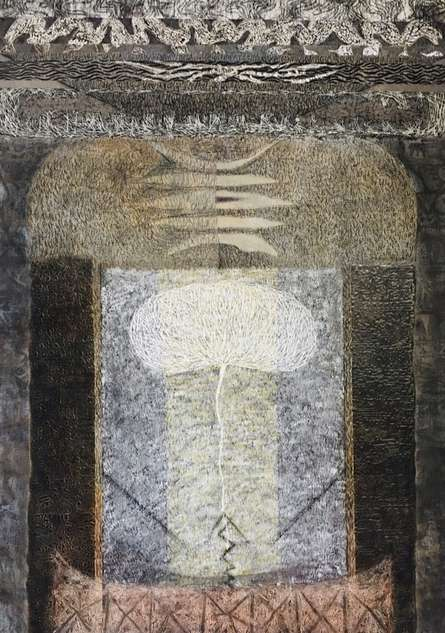 Religious Mixed-media Art Drawing title Rātna by artist Anand Pratap