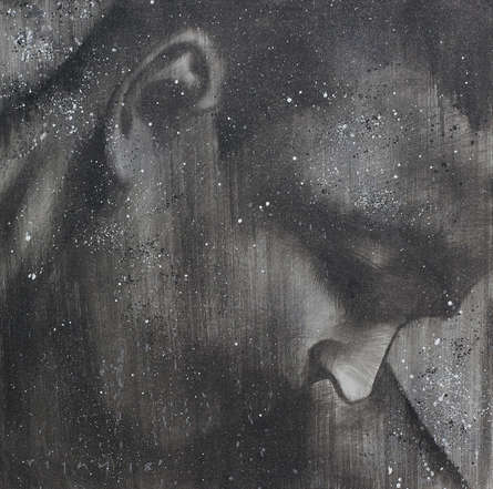 Portrait Acrylic Art Painting title Arjuna by artist Vijay Shelar