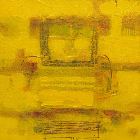 Abstract Acrylic Art Painting title Untitled 1 by artist Prasad Mane