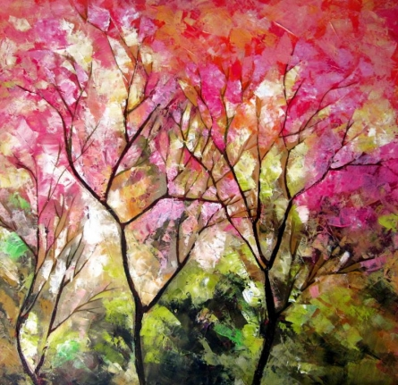 Nature 6 | Painting by artist Bahadur Singh | oil | Canvas