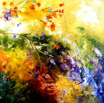Nature 2 | Painting by artist Bahadur Singh | oil | Canvas