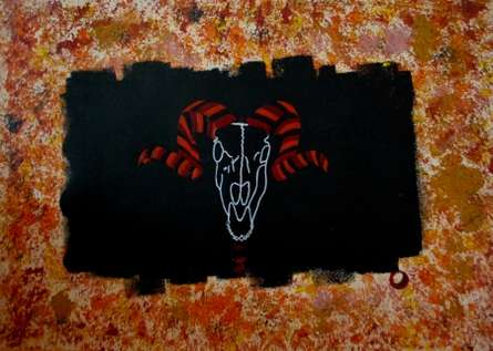 Fat Thursday  | Painting by artist Marco Antonio Abbagnara | acrylic | CardBoard