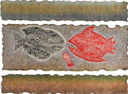art, painting, mixedmedia, acid free paper, animal
