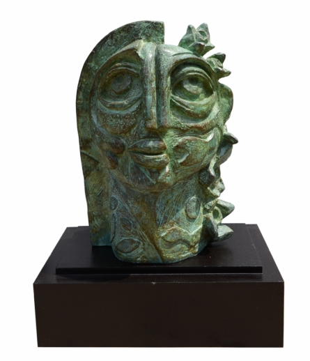 Bronze Sculpture titled 'Pholkumari' by artist Atish Mukherjee
