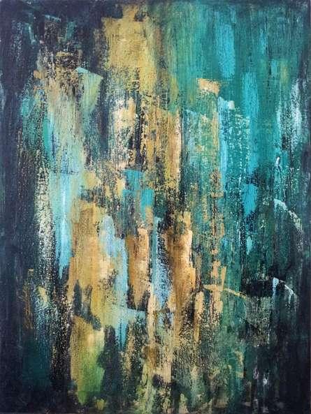 Sanjay Akolikar | Acrylic Painting title Untitled 2 on Canvas | Artist Sanjay Akolikar Gallery | ArtZolo.com