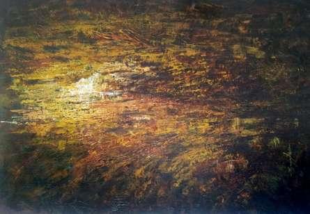 Abstract Art | Painting by artist Sanjay Akolikar | acrylic | Canvas