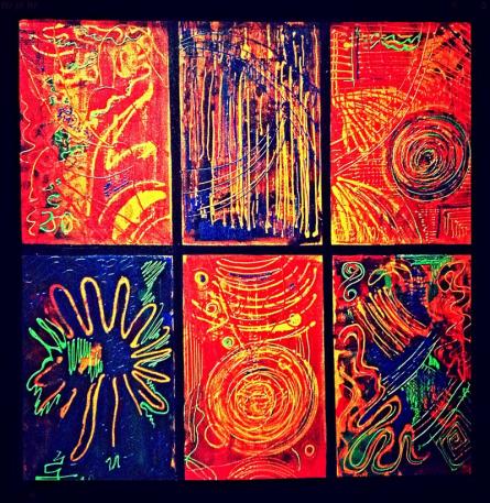 Enlightenment   Painting by artist Shruti Vij   mixed-media   Canvas