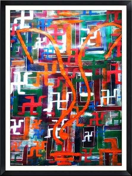 Image | Mixed_media by artist Shruti Vij | Handmade Paper
