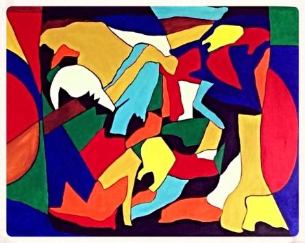 Image   Painting by artist Shruti Vij   acrylic   Canvas