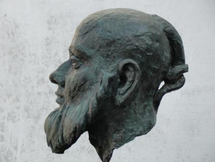 Hiralal Rajasthani | Humanity Sculpture by artist Hiralal Rajasthani on Fiber Glass | ArtZolo.com