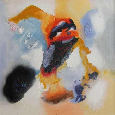 Ranga Naidu | Another Dimension Mixed media by artist Ranga Naidu on Canvas | ArtZolo.com