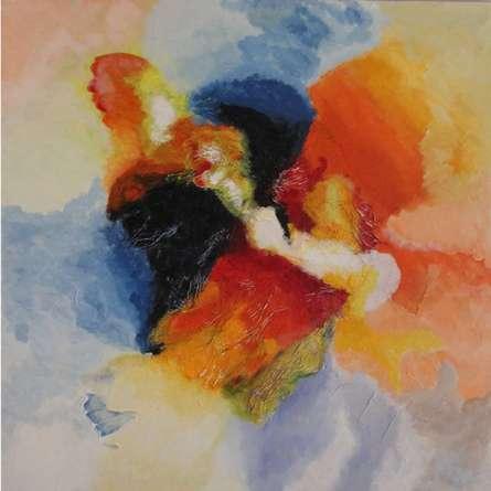 Opne Sky | Mixed_media by artist Ranga Naidu | Canvas