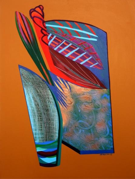 Abstract 6 | Painting by artist Viidhyasagar Upadhyay | acrylic | Canvas