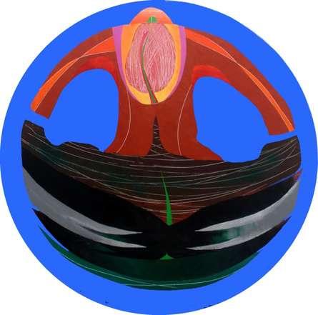 Joyful 2 | Painting by artist Vidhyasagar Upadhyay | acrylic | Canvas